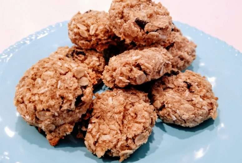 banana coconut cookies from run fast eat slow