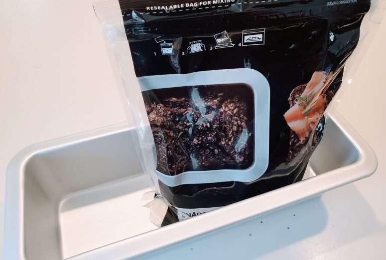 Ikea Knada Bread mix with pan