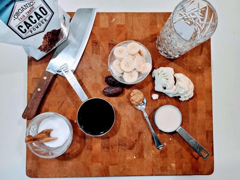 Afternoon Coffee Cauliflower Smoothie