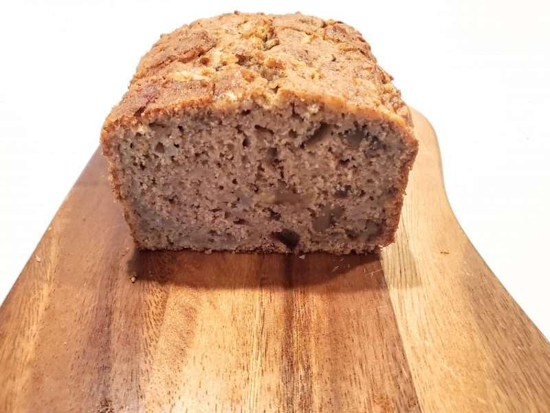 Apple Walnut Date Quick Bread